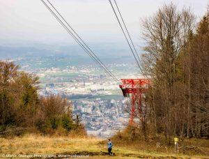 Blick zur Stadt Gmunden