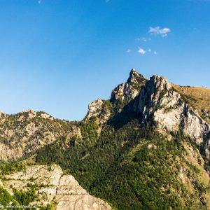 Blick vom Tal auf die schlafende Griechin