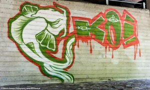 Graphity Hummelhof-Park Linz