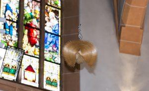 Schmuck in der Kirche