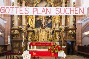 Altar der Pfarrkirche Steinakirchen am Forst