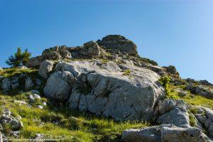 Schöne Felsformationen am Schoberstein