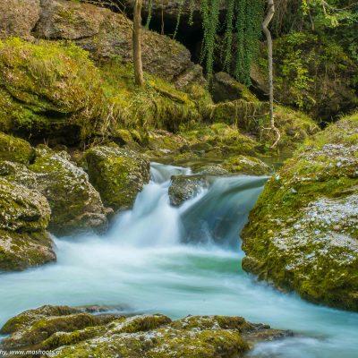 Kleiner Wasserfall - Erlaufschlucht in Purgstall