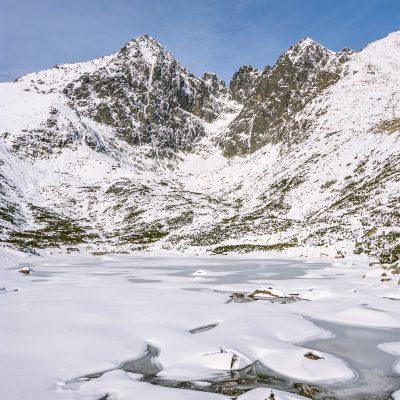 Blick auf den Gipfel