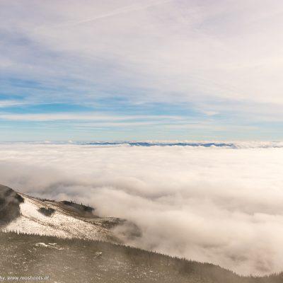 BlIck von der Hohen Tatra