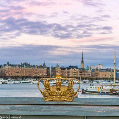 Brücke in Stockholm
