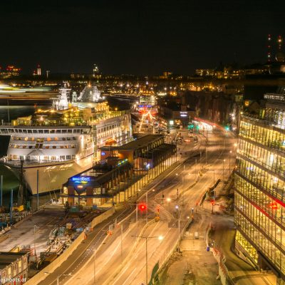 Ortsteil Slussen in Stockholm