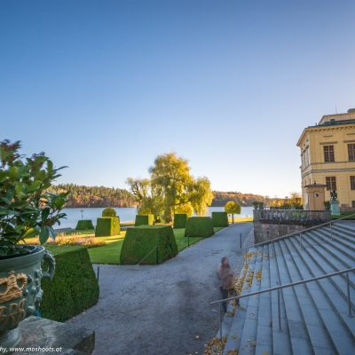 Eingang vom Schloss Drottningholm