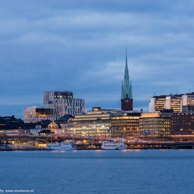 "Blick Richtung ""Stockholm Centralstation"""