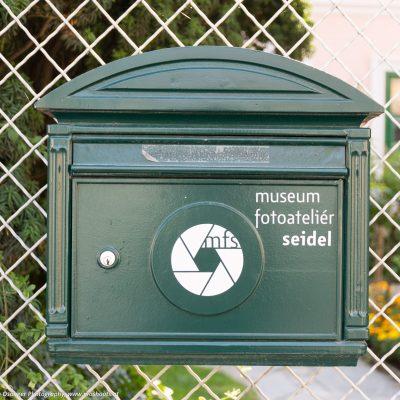 Briefkasten vom Fotoatteliér Seidel