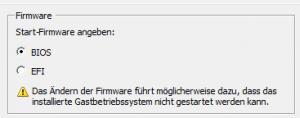Hier ein Ausschnitt von einer VM auf einem ESXi Server.