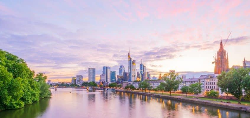 Geschäftsreise nach Frankfurt am Main