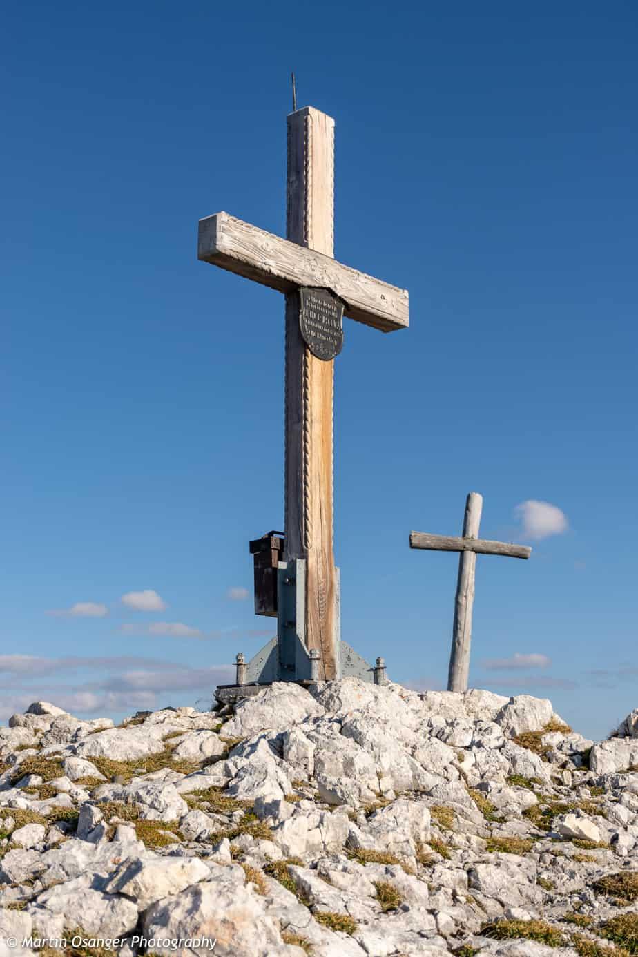 Gipfelkreuz vom Elm