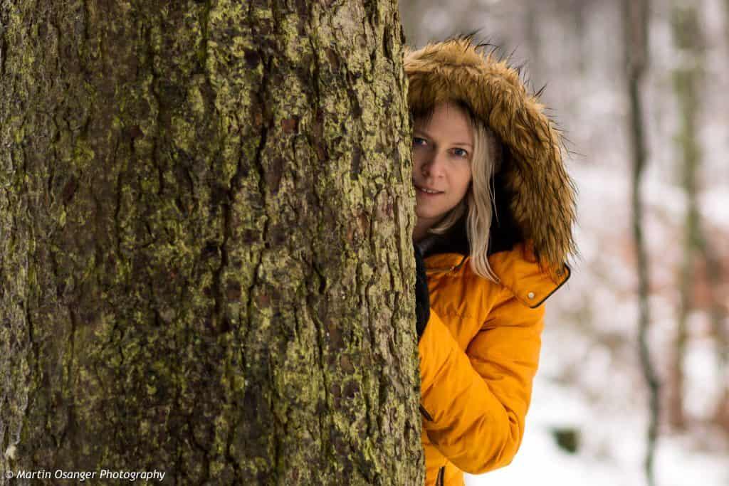 Wintershooting mit Elisabeth